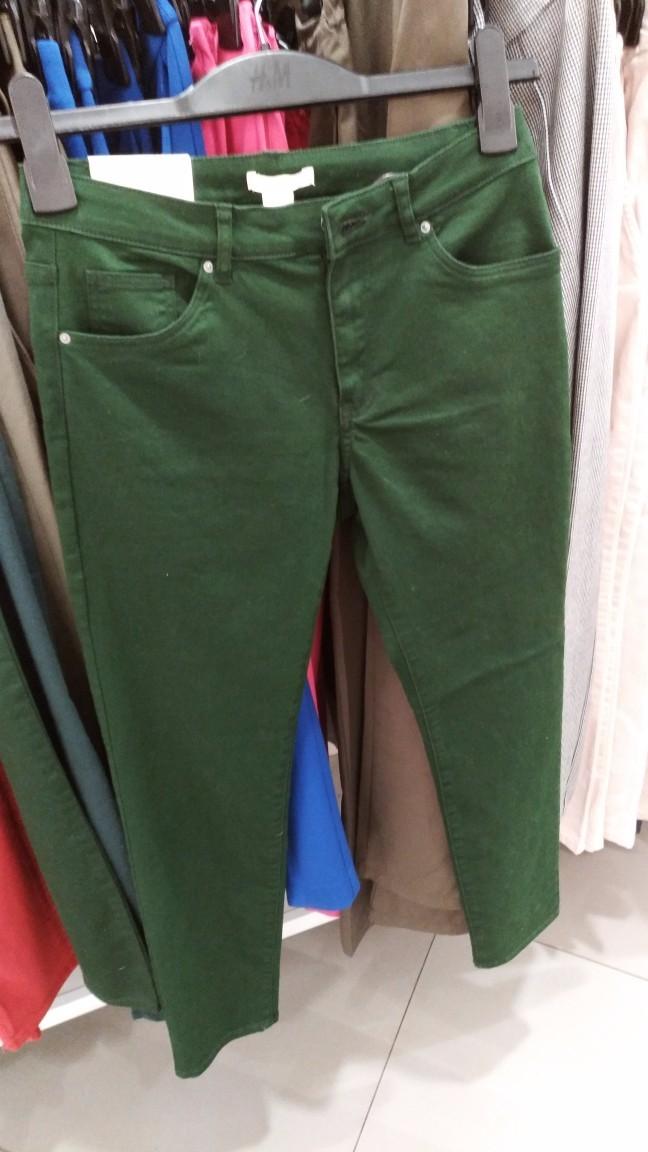 【满意】实付2元,在HM收了一条长裤,住附近的可以来逛一下了!