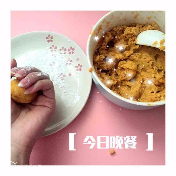 【疑惑】自己炸的红薯丸子,超好吃,但炸完了为什么不脆呢?