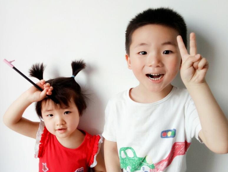 """【开森】520被刷屏,老阿姨最暖心,莫过于我家俩宝贝说:""""妈妈我爱你!"""""""