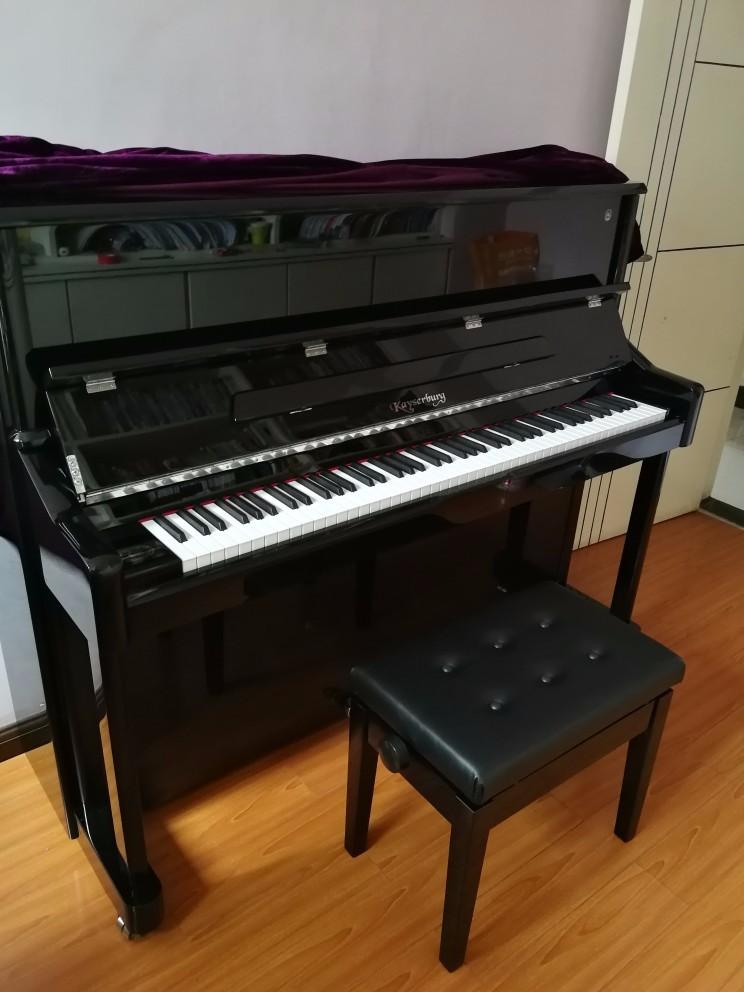 【开心】一天之内敲定宝贝的钢琴,马上可以开启练琴模式了!