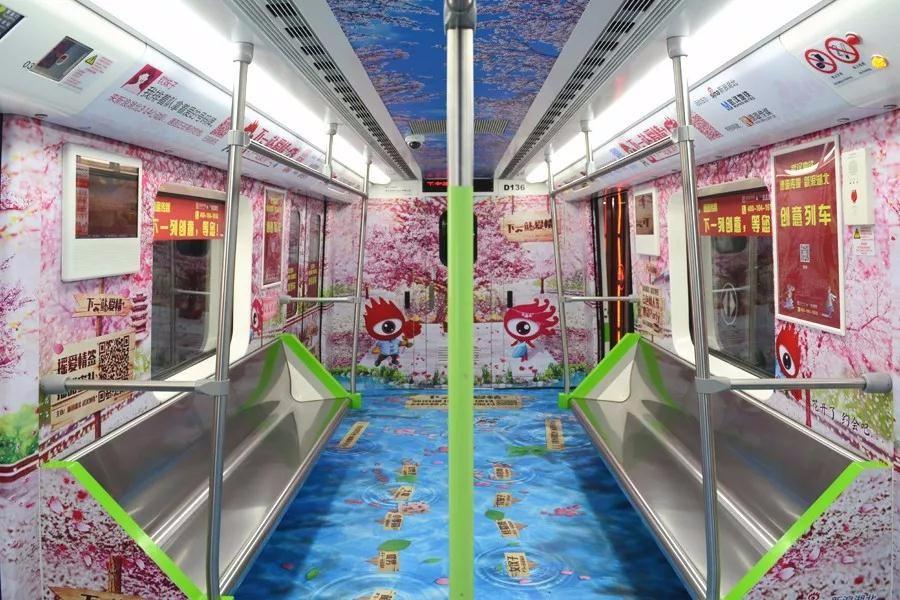 【火爆】武汉地铁,你走过千万遍的地方~