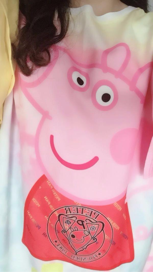 【好看】小猪佩奇身上穿,从此我也是一枚社会人!