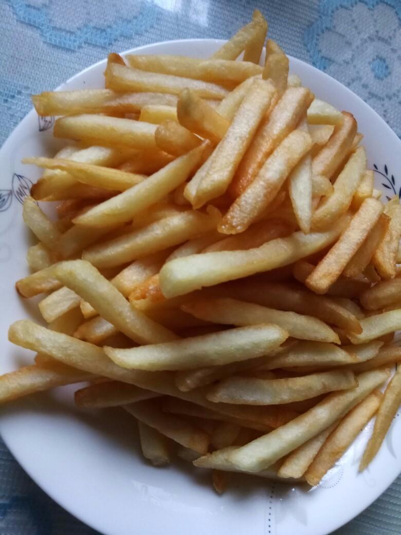 【长肉】我爸自制的薯条全都炸了,今天又要长几斤肉啊?