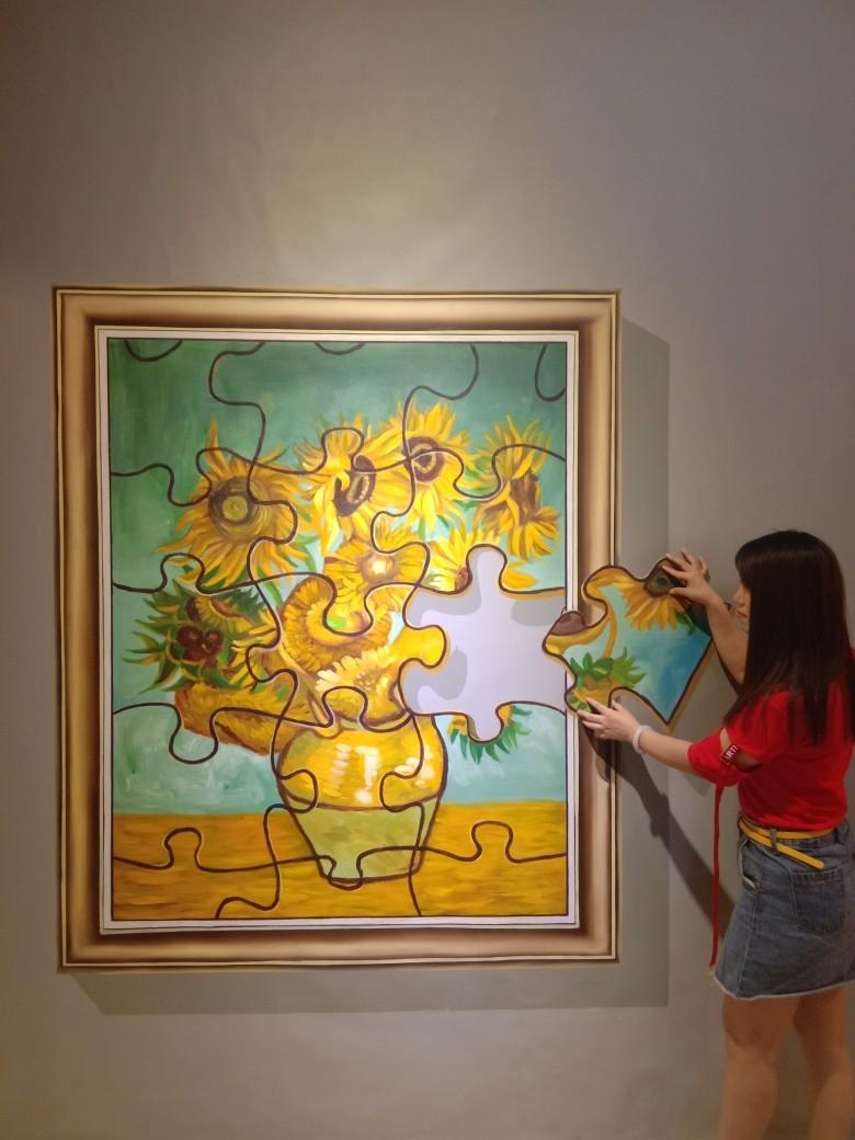 【开森】打卡网红梵高艺术博物馆!奇异世界超乎你的想象!