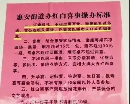 【讨论】惠安街道办规定彩礼不得超2万否则就是贩卖人口,你怎么看?