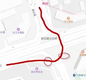 【懵】开始绕环岛了绕到一半了,突然发现对向车道有个红绿灯