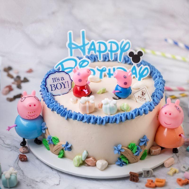 【求助】宝贝生日,她最喜欢小猪佩奇!光谷附近哪里可以订到小猪佩奇蛋糕?
