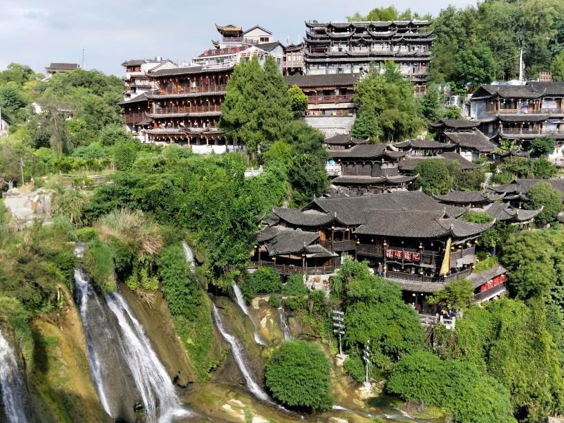 避暑乐游游变景点逍遥游!亲子游第四站——湖南芙蓉镇!