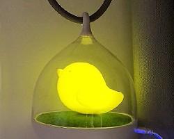 【秀灯】哇哦,被这个小鸟灯萌化了!顺便晒一晒新家的灯!