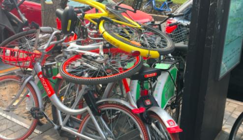 """【每日一问】共享单车""""退烧""""!你现在用车还方便吗?"""