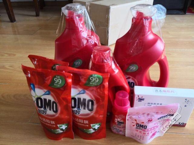 天猫超市17斤洗衣液只花了60多,好便宜!比超市便宜多了!