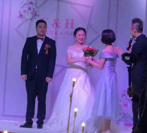 得意真的可以遇见自己的幸福,我在这个双十一结婚了!顺便帮我闺蜜征个婚!