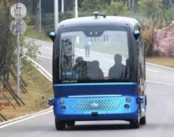 国内首辆无人驾驶小巴来啦,武汉伢可以微信预约乘坐!