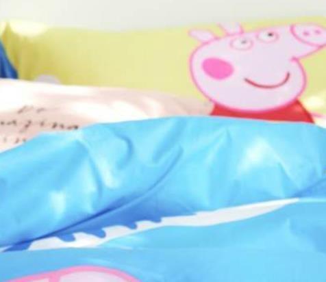 猪年购家纺,给女儿买了小猪佩奇三件套,性价比超高!
