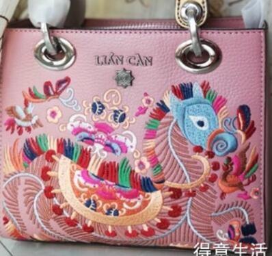 包治百病!519元买的民族风刺绣手提包,美翻了!