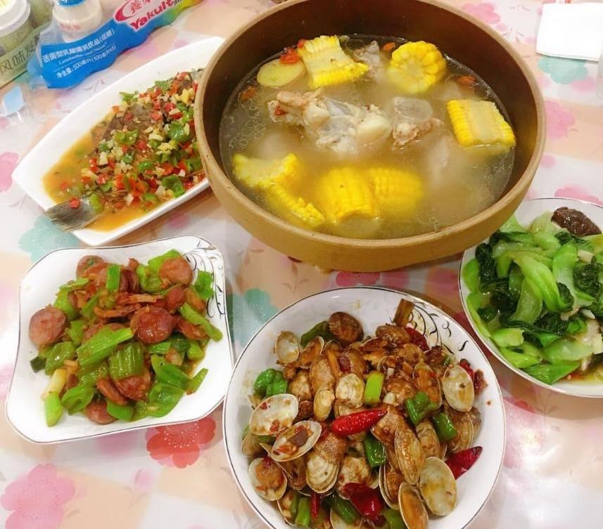 花了2小时,做顿家常菜4菜一汤,一家人开开心心!