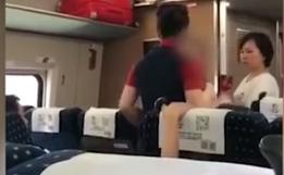 开往武汉的高铁上,女子拒查票气哭乘务员!同行的孩子却说了句大实话!