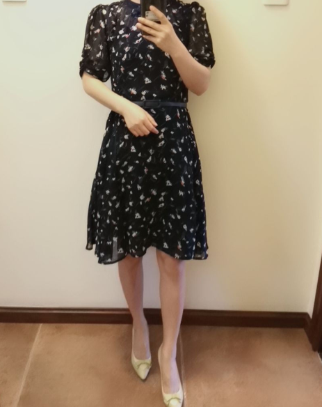 我的花裙子,畢業十年舍不得丟掉!每年夏天都要再穿幾次!