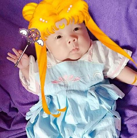 超可爱萌娃汉服秀,国产宝宝当然要穿汉服啦!