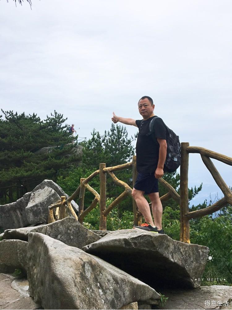 跟了个团,爬了座山,罗田薄刀锋一日游归来!