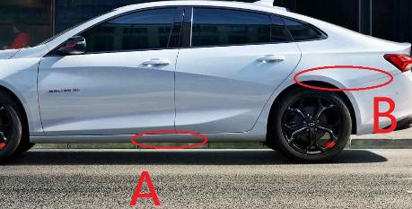 求助老司机,这2个点都擦了,能一起用车险报了么?划得来么?