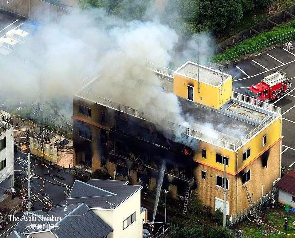 一把火毁掉日本最走心的动画公司,33人死亡……