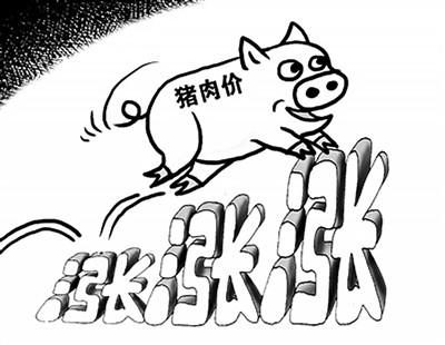 现在猪肉这么贵,那么房价的上涨速度能跟上物价吗?