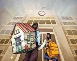 """新规!武汉已有众多家长被""""坑惨"""",花数百万买的学区房上不了!"""