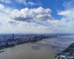 武汉第一高楼的视角,顿时感觉恐高症都好了!
