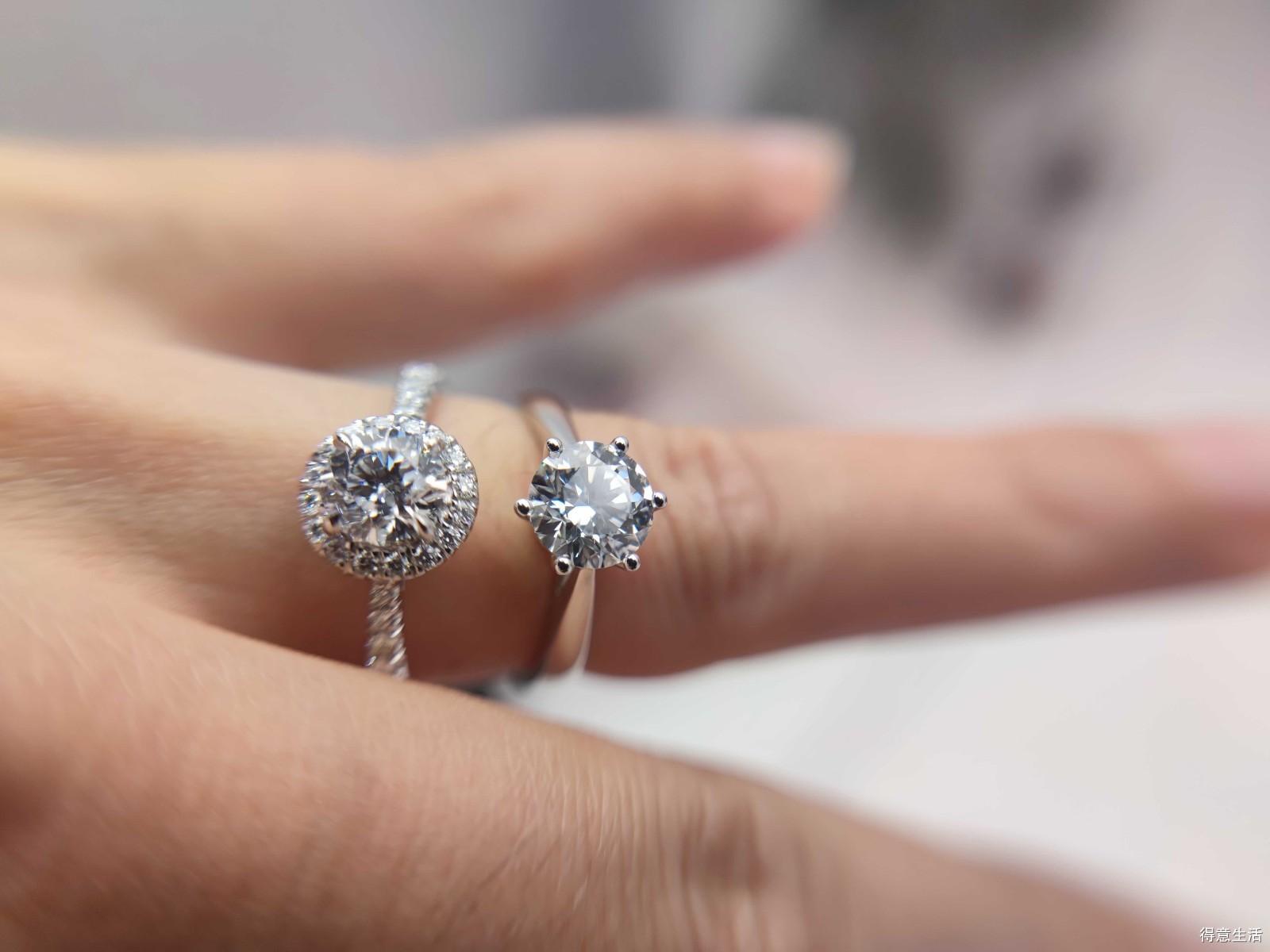 【备婚小能手】和表妹一起买钻戒,60分钻石一点也不输一克拉!