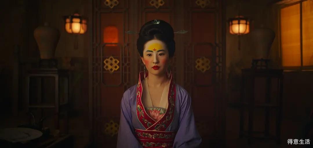 《花木兰》槽点虽多,感觉还行,太吃刘亦菲的颜了!