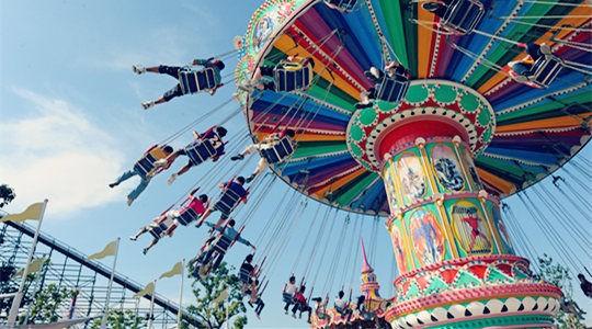 四岁宝宝去武汉的欢乐谷有什么可玩的项目咩,求推荐!