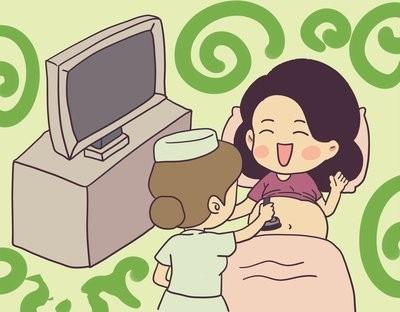 孕妈的快乐就是这么简单,做完四维大排畸,看到宝宝的小脸心都要融化啦!