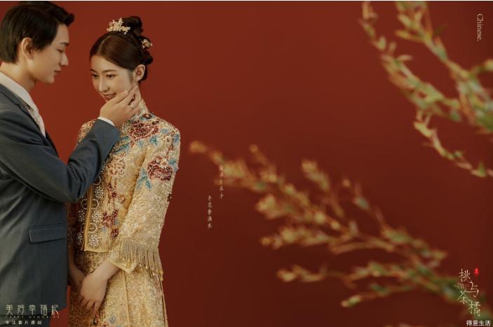 予以爱情最为郑重的仪式感,来自于中式庭院!你喜欢吗?
