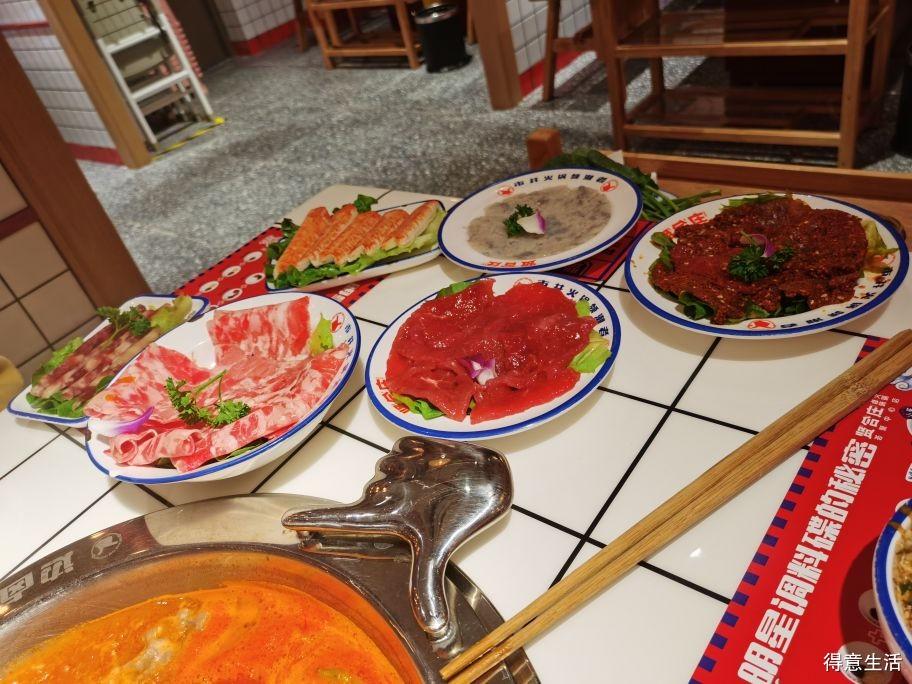 打卡陈赤赤的火锅店,个人觉得价格还是偏贵了些!