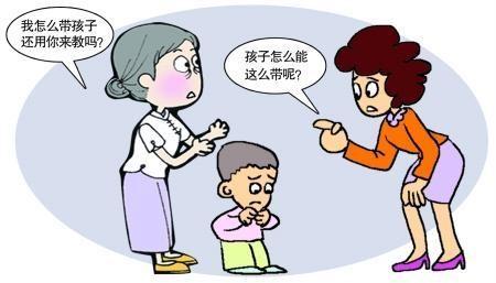 家里老人总是越界去教育小孩,该怎么办?求各位聪明的宝妈指点下!