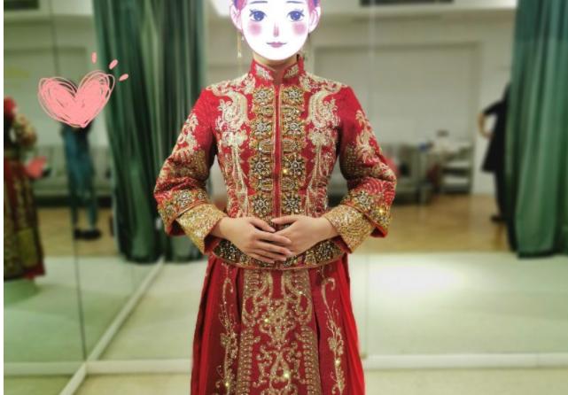 找到喜欢又合腰身的婚纱,一点不挑人和身材,当然要强推!