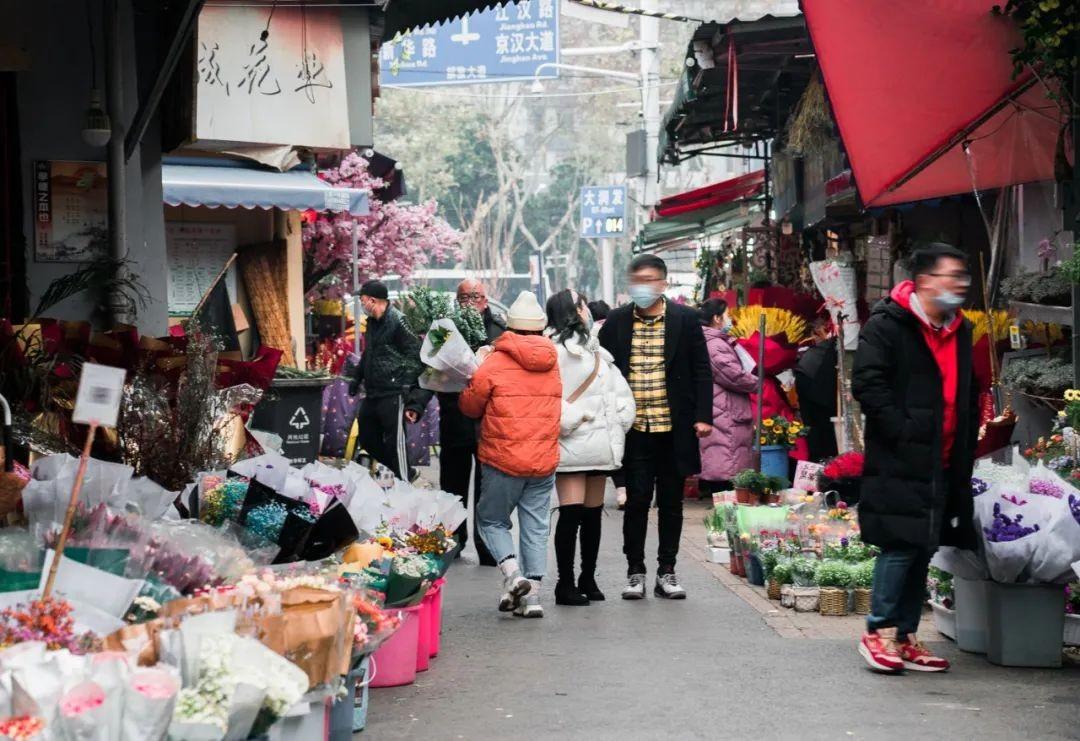 武汉伢的宝藏花市TOP1!5块10块就能端走幸福!