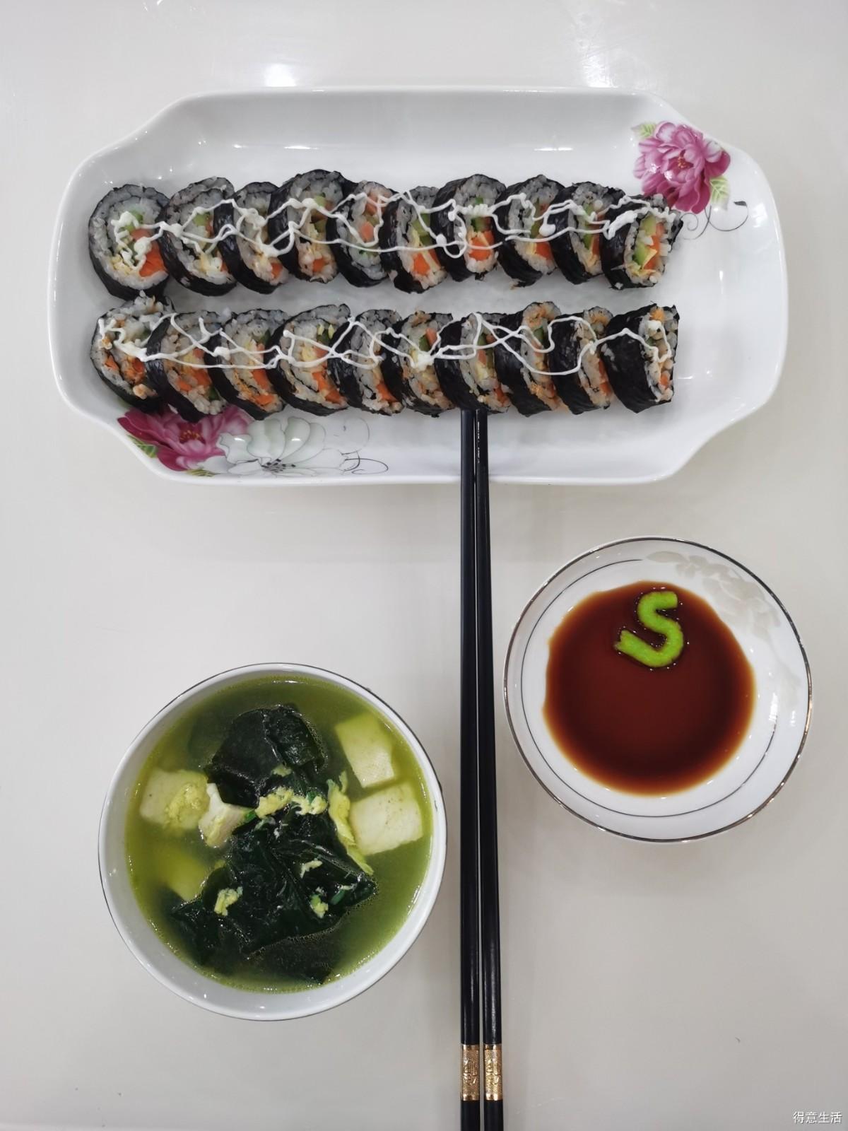 自制和风料理寿司,想吃日料的跟着做起来!