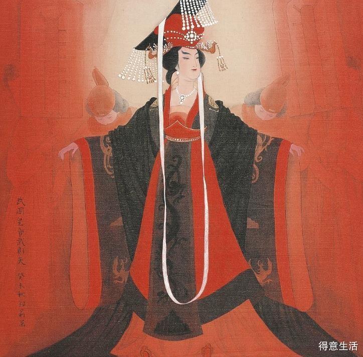 武则天作为第一位女皇,那么她的孩子们都是什么结局呢?