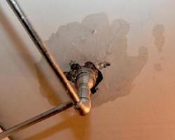 悲催!楼上的水渗到我家了,但是楼上不管怎么办?