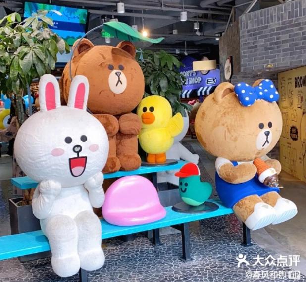 端午节去南京看到这个巨大的布朗熊,我的内心快要萌化了!