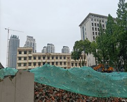 武昌滨江武船地块最新进展,武船内部已经开启平地模式!