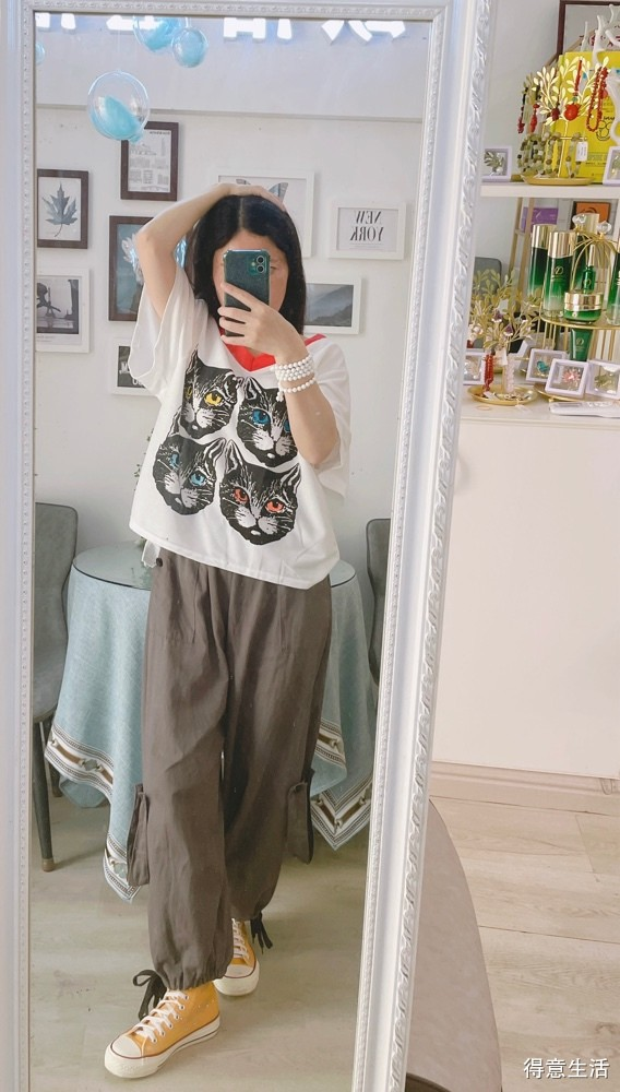 最近爱上了短衣长裤的穿搭,大家觉得怎么样?