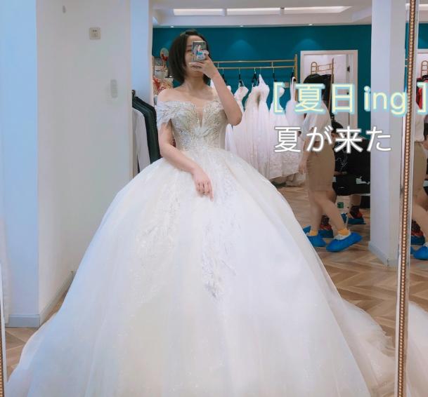 预算不高但效果很棒的婚纱是这样的!会省钱的新娘真是无敌了!