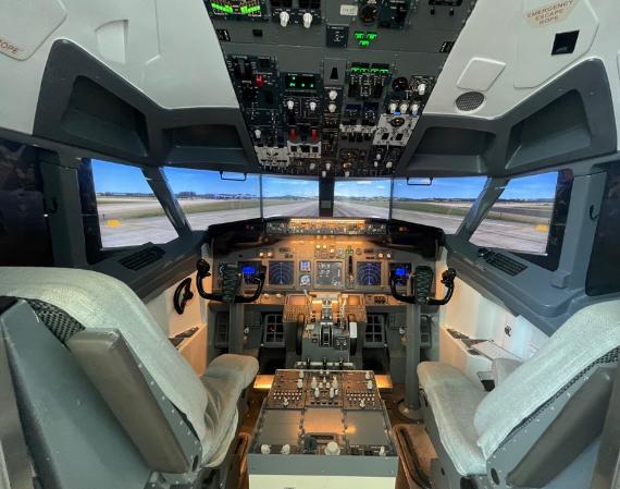 天河机场的飞机模拟舱,大家认为值得去体验吗?