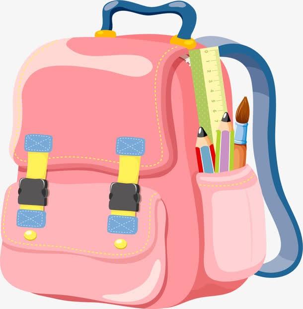 你家小孩都背什么样的书包?我家个子小天天背个大书包,太吃亏了!