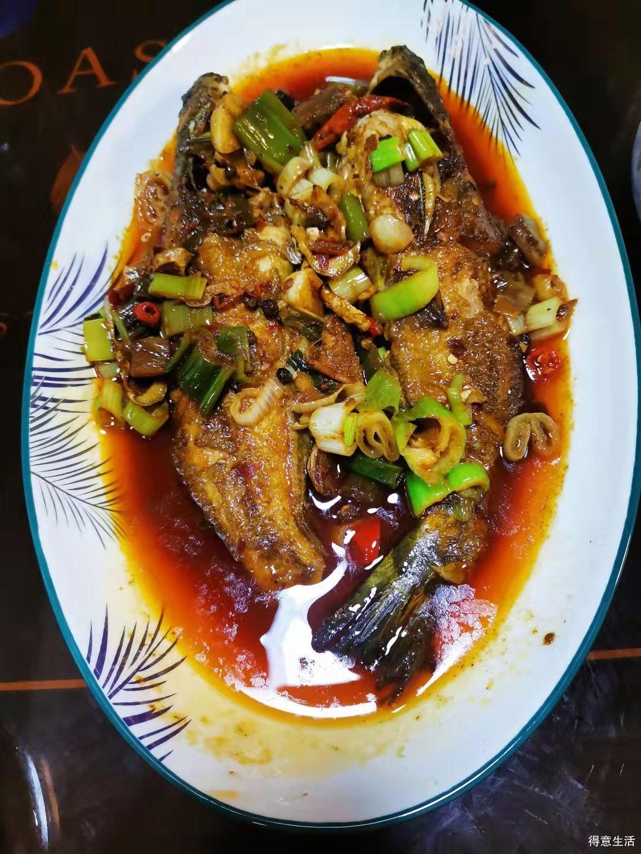 自己在家烧的黄骨鱼和壹盏灯大厨做的黄骨鱼对比,谁赢了?