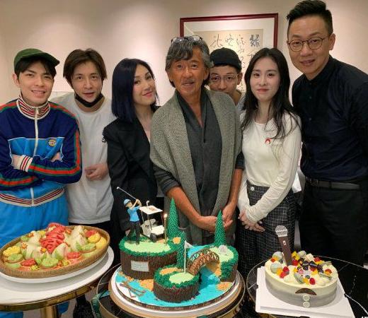 74岁林子祥一天参加三场庆生派对,杨千嬅张碧晨等众星惊喜现身!